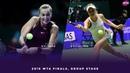 Petra Kvitova vs. Elina Svitolina | 2018 WTA Finals Singapore | WTA Highlights