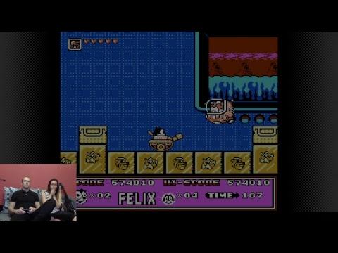 прохождение felix the cat на dendy(NES) за один присест