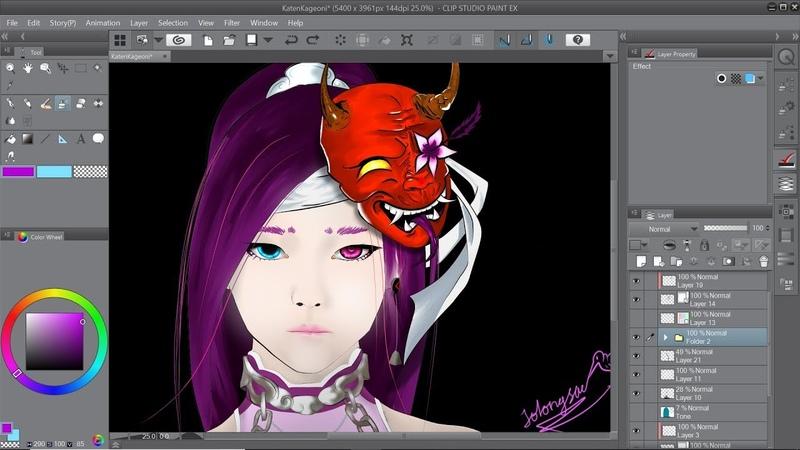 Black Desert Online Lahn Art [ SpeedPaint ] My New Profile Picture