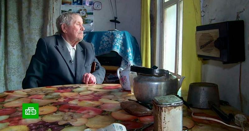 Живущий в ветхой избе пенсионер из Коми отдал детям миллион рублей
