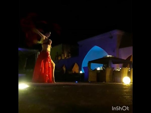 Aziza aspani raks belly dance show Abu Dhabi