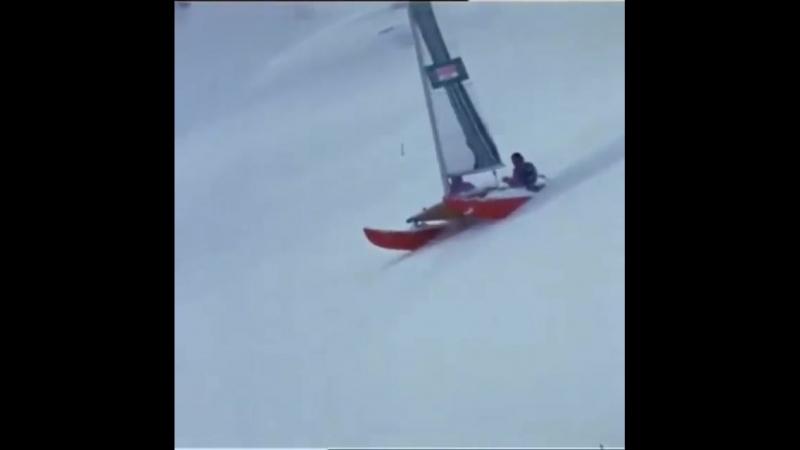 О том, что в пухляке можно не только на лыжах или борде))