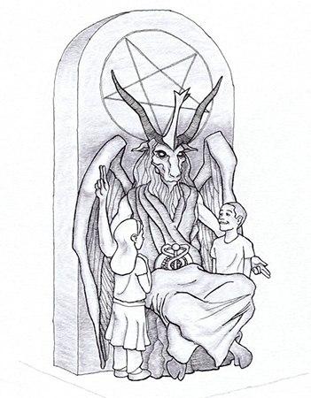 гадалка - культ Сатаны. Сатана. Дьявол. Люцифер ( фото, видео, демотиваторы, картинки) - Страница 2 Ugdz-F_vWmU