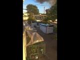 В Севастополе горел гаражный кооператив (видео)