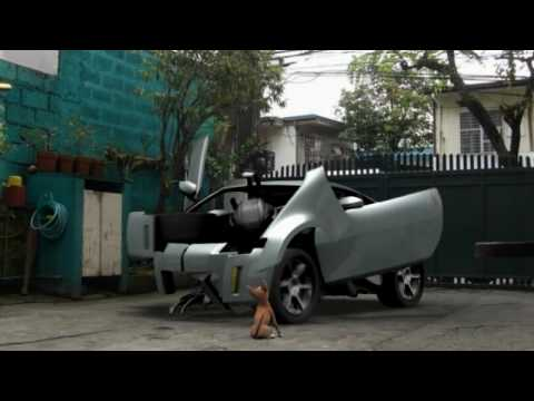 Felled a short film Blender 3D Transformers 2