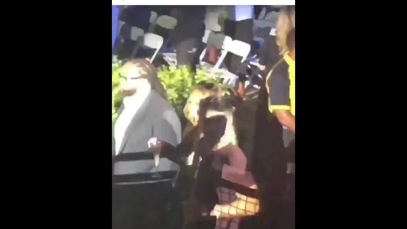 Mariah Carey walks at Beyonce JayZ's OTRT II in L.A