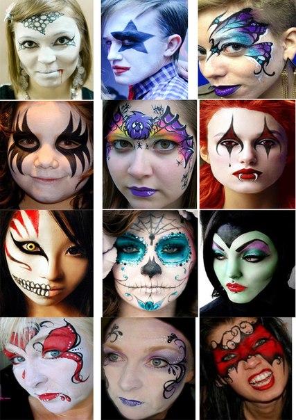 Раскраска лица Детские раскраски, распечатать