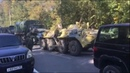 Военная техника около колледжа в Керчи, где произошла стрельба
