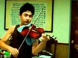110709 SJ-M Henry 16歲未出道前拉小提琴(台灣民謠)西北雨