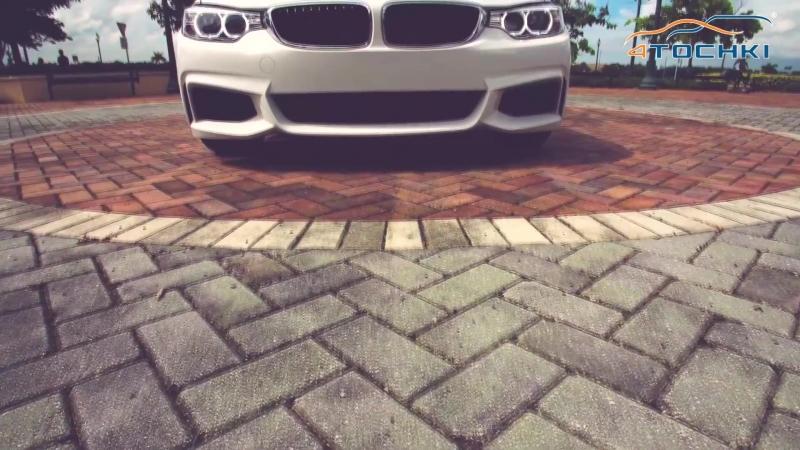 BMW 435i M Sport F32 на 20 дисках Vossen CV7 на 4 точки. Шины и диски 4точки - Wheels Tyres