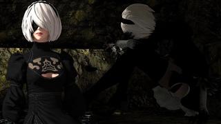 Dark Souls: Remastered - 2b (NieR: Automata) Mod Showcase