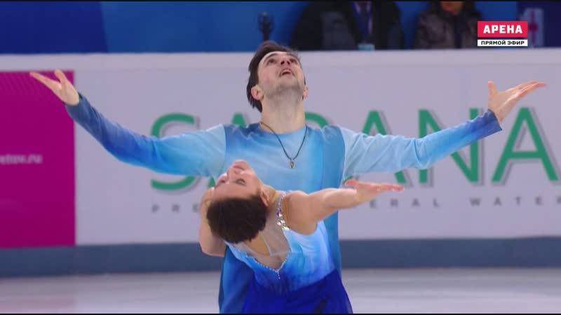Чемпионат России 2019. Танцы - ПТ. Софья ЕВДОКИМОВА Егор БАЗИН