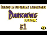 Intros in different languages: Darkwing Duck