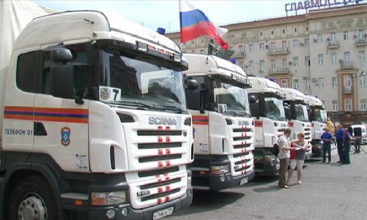 Колонна с гумпомощью жителям юго-восточной Украине проедет через Ростовскую область