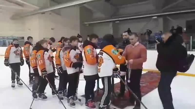 Первенство Республики Коми по хоккею с шайбой среди юношей 2004-2005 г.р. 15-18 января 2019 г.г.Сосногорск 2 тур. ХКФеникс 2 м