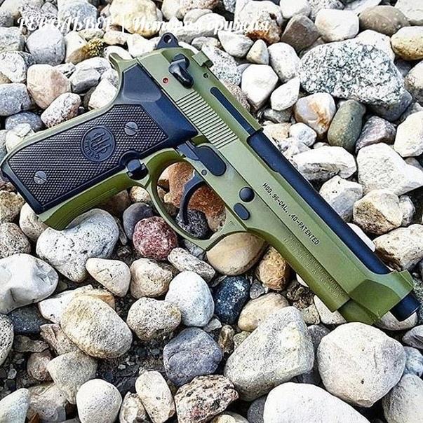 Beretta 96 'Cerakote Green'      
