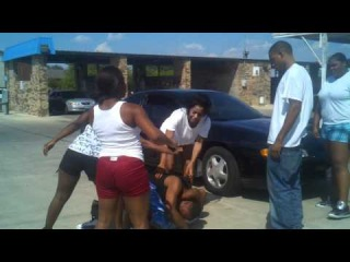 Fight at Willow Springs Car Wash !