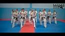 Taekwon-do itf kaskad
