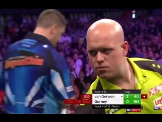 Michael van Gerwen vs Daryl Gurney (2018 Premier League Darts / Week 4)