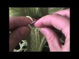★★★ Уроки вязания спицами | Декоративная полоса с путанкой . ★★★