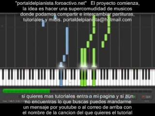 awai omoide rozen maiden piano tutorial synthesia.avi