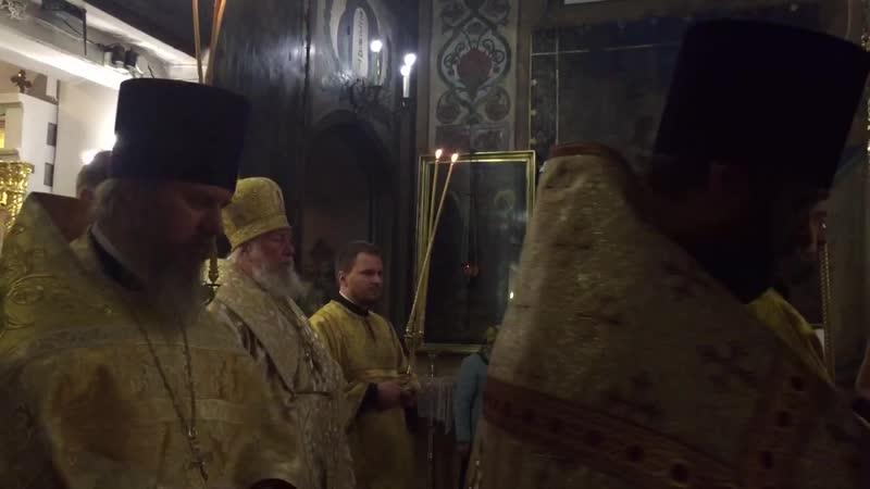 Заповеди Блаженства Архиерейский Хор храма Казанской иконы в Коломенском