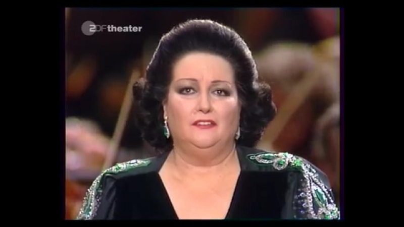 Montserrat Caballe - Sposa son disprezzata (Antonio Vivaldi Bajazet - Geminiano Giacomelli La Merope)