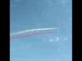 Флаг Татарстана в небе