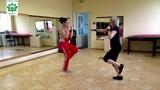 Фитнес тренировка в парах. Тренер Закирова Евгения