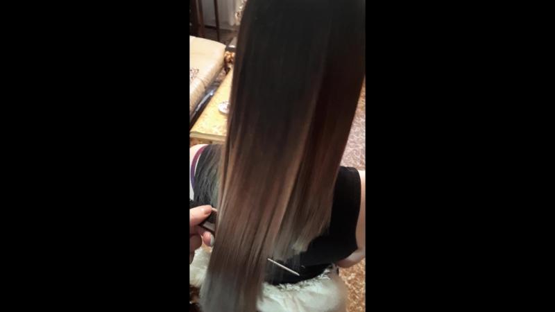 ботокс волос тонирование подравнивание кончиков
