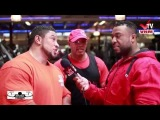 Roelly Winklaar - Chest & Arms Training