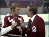 Валерий Харлаов и Бобби Халл, интервью Суперсерия-74 года.