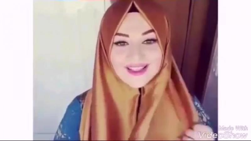 Красивый хиджаб.Как красиво завязать платок..mp4