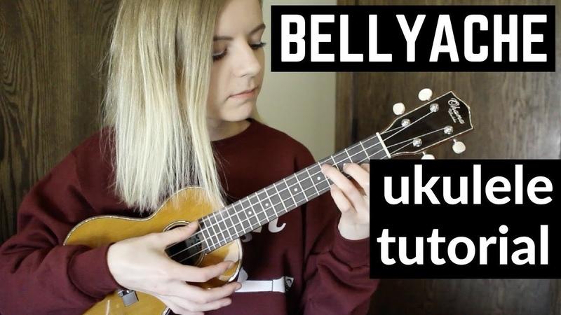 Bellyache - Billie Eilish | EASY UKULELE TUTORIAL
