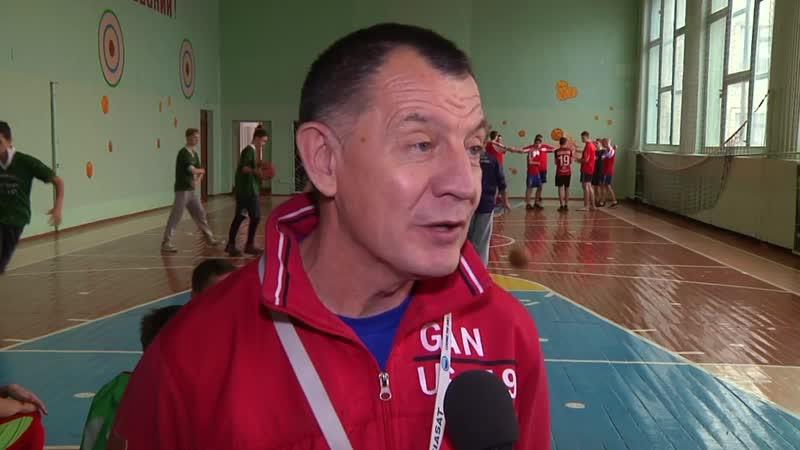 Чемпионат Мозырского района среди школьников по баскетболу