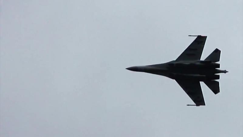 Высший пилотаж Су-35C _ Su-35S ( Flanker-E)
