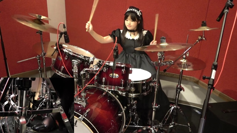 【BAND-MAID】『DOMINATION』叩いてみた(Drum cover)