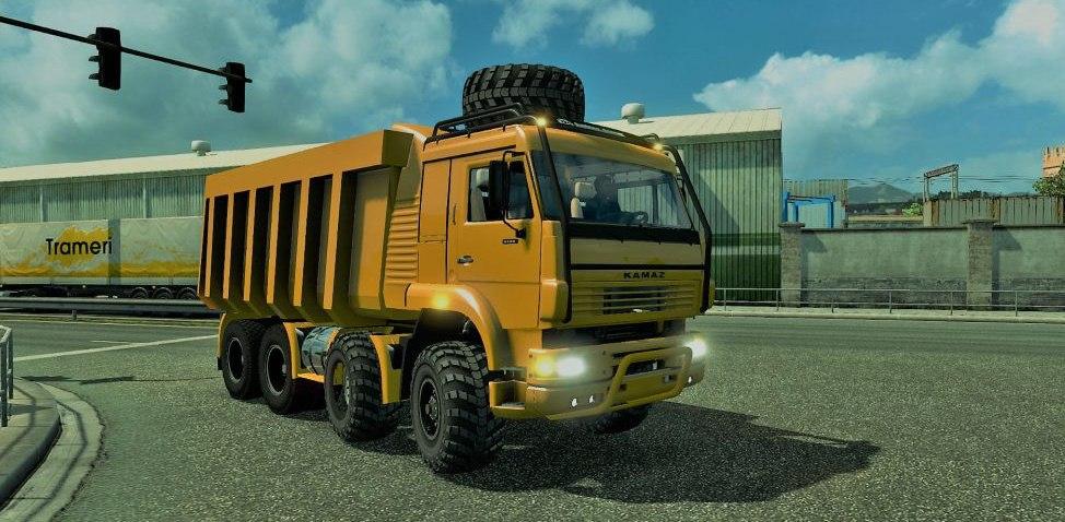 Kamaz Monster 8×8 Chassis
