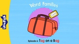 Word Families 6 Tag on a Bag Phonics Little Fox Animated Stories for Kids