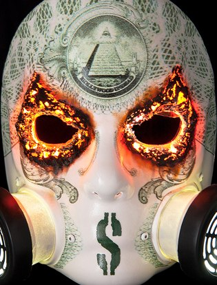 Hollywood Undead J Dog Mask 2013       Notes from the