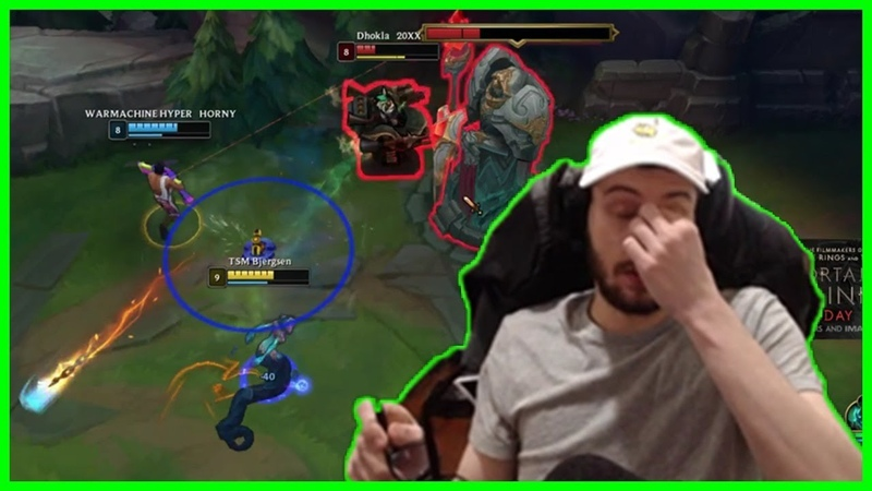 Bjergsen's Biggest Fail In His Life - Best of LoL Streams 476