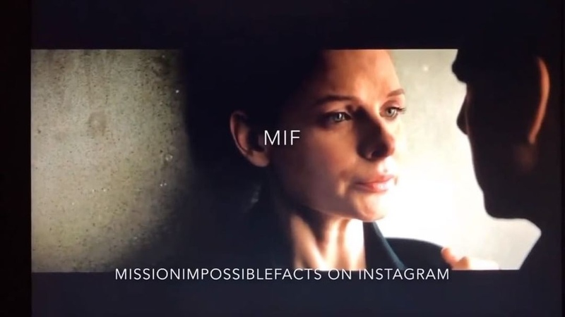 """Rebecca Ferguson on Instagram: """"🆕 DELETED SCENES FROM MISSION IMPOSSIBLE FALLOUT OF ILSA AND ETHAN OH MY GOD ❤️😊😭💓 @tomcruise rebeccaferguson tom..."""