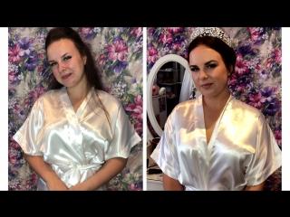 Причёска и Макияж для Машули от Стилиста Визажиста Марии Эффект