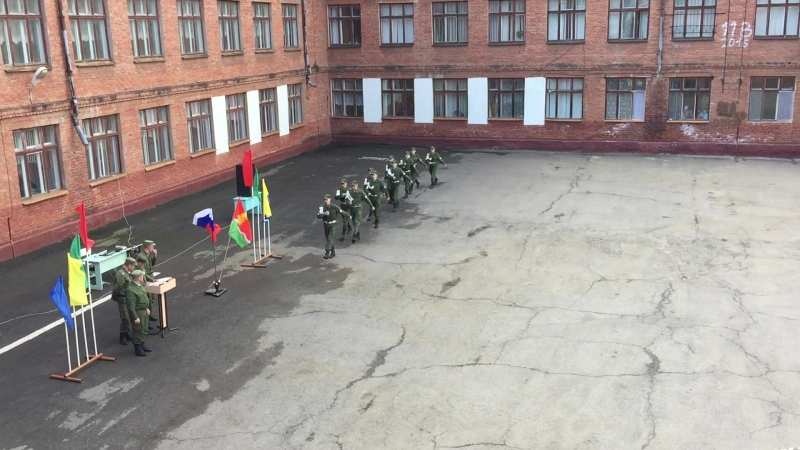 Зарница 2018 - Школа номер 3 г.Котовска