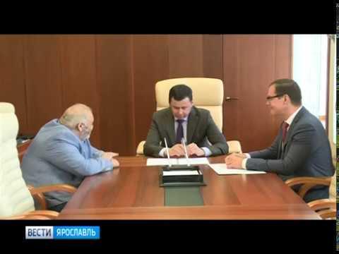 Глава региона Дмитрий Миронов встретился с основателем Ярославского камерного театра Юрием Ваксманом