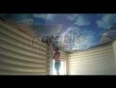 Натяжной потолок - фотопечать полная заливка