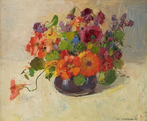 Олле Хьёртцберг (Olle Hjortzberg, 1872-1959) шведский художник. В 1892 году Олле Хьёртцберг был принят в Королевскую Академию изящных искусств. После ее окончания в 1896 году, он провел 7 лет за