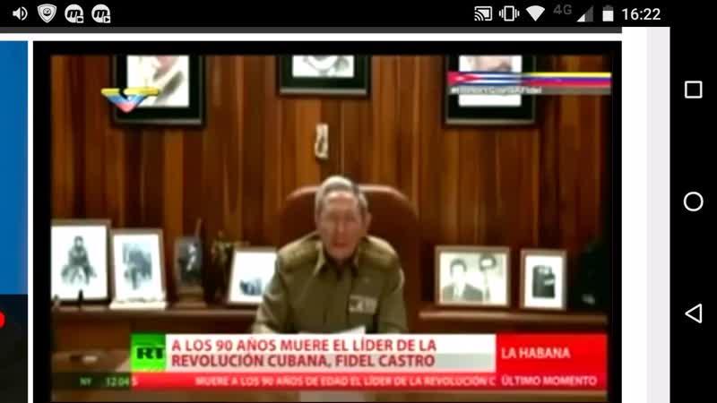 Por Siempre Fidel-Cobertura VTV