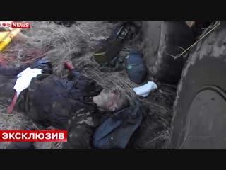 Ополченцы разгромили батальон Айдар (Украина, Юго-Восток) Луганская Народная Республика