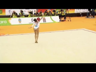 ДИНА АВЕРИНА - Мяч (многоборье) -- Чемпионат Европы 2018. Гвадалахара, Испания.mp4